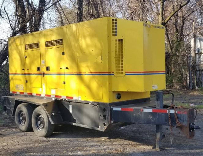 Used 260 kW Doosan G325 Portable Diesel Generator – EPA Tier 4i – COMING IN!