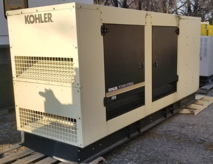 Used 150 kW Kohler 150REZGB Natural Gas Generator – JUST IN!