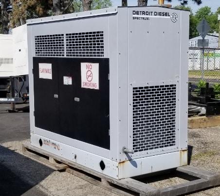 Used 60 kW Detroit Diesel 60GSG Natural Gas Generator – SALE PENDING