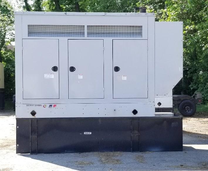 Used 225 kW Detroit Diesel 230DSEJB Diesel Generator – SALE PENDING