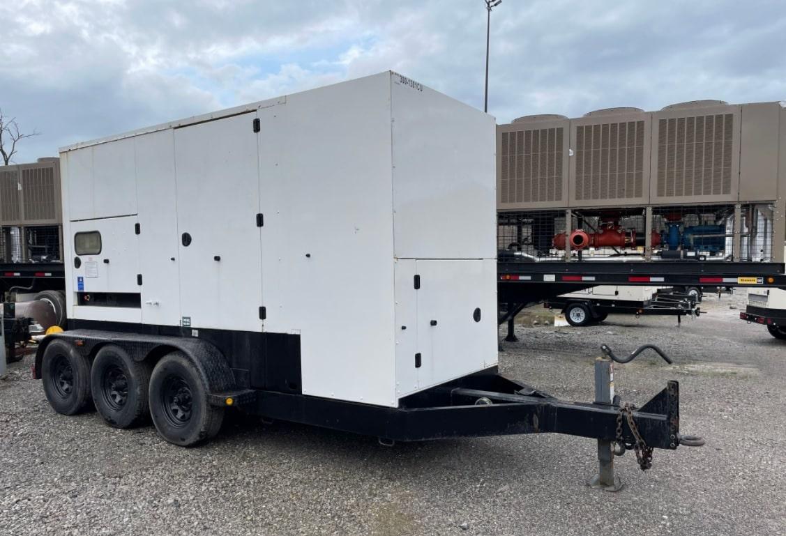 Used 300 kW Cummins C300 D6R Portable Diesel Generator – EPA Tier 3 – SOLD!