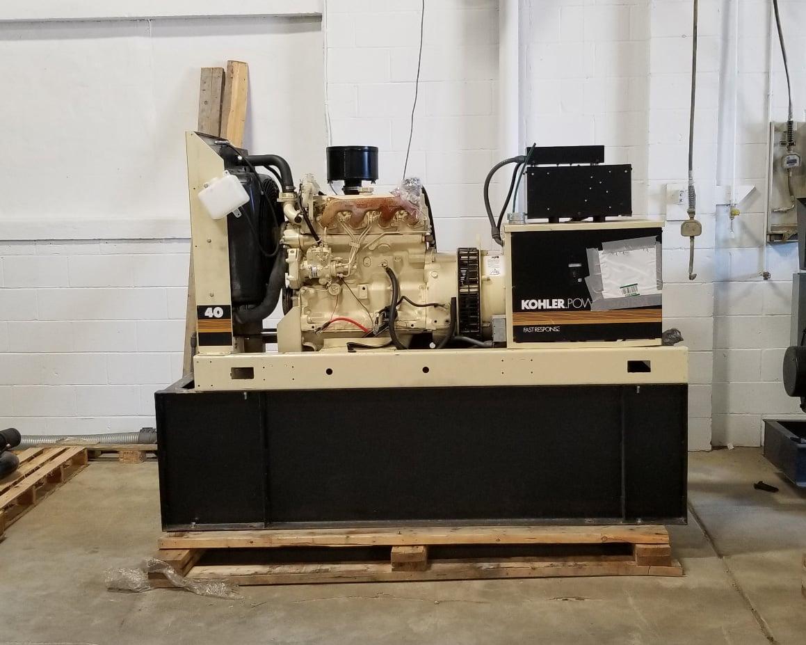 Used 37 kW Kohler 40ROZJ Diesel Generator – JUST IN!