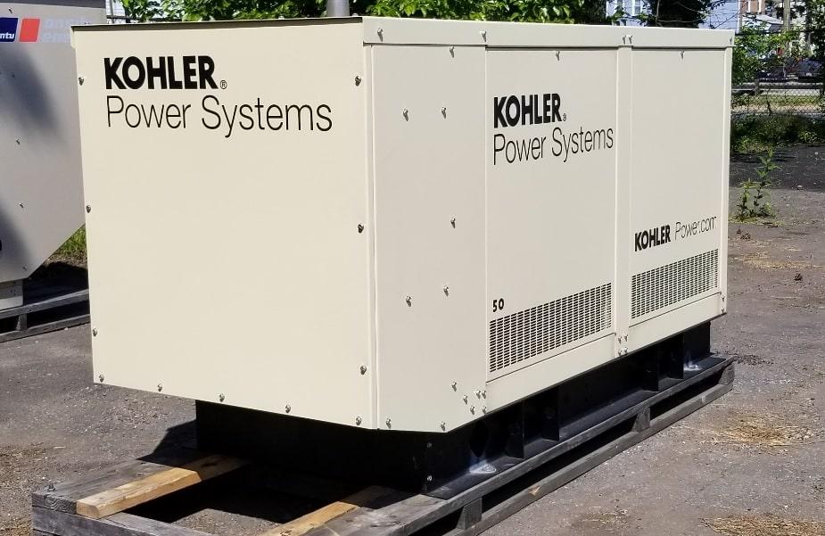 Used 50 kW Kohler 50REZGB Natural Gas Generator – SALE PENDING