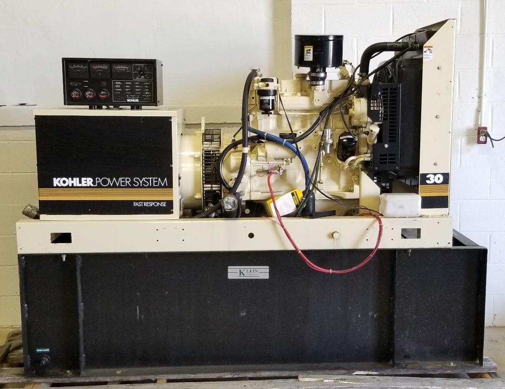 Used 33 kW Kohler 30ROZJ Diesel Generator – SOLD!