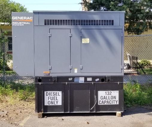 Used Generac SD030 Diesel Generator
