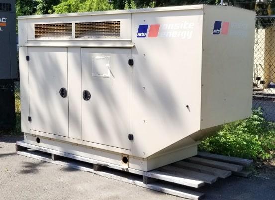 Used 50 kW MTU VER50PGC6NLT1 Natural Gas Generator – JUST IN!