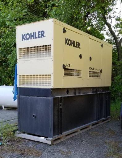 Used 125 kW Kohler 125REOZJG Diesel Generator – EPA Tier 3 – SOLD!