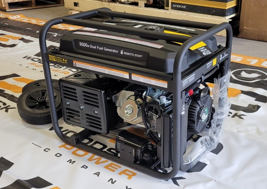 New 9.5 kW Onan P9500df 9500 Watt Dual Fuel (Gas/LPG) Portable Generator (38 Available) – COMING IN!