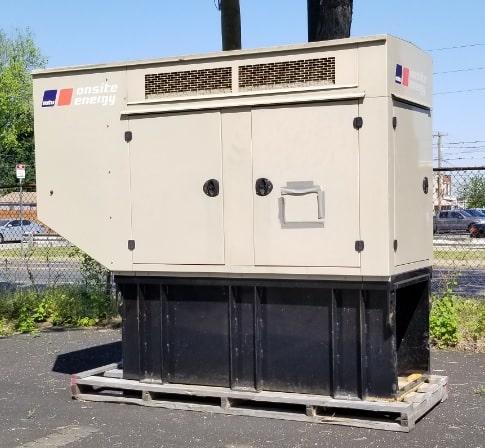 Used 50 kW MTU VER50DJC6DT3 Diesel Generator – EPA Tier 3 – SALE PENDING