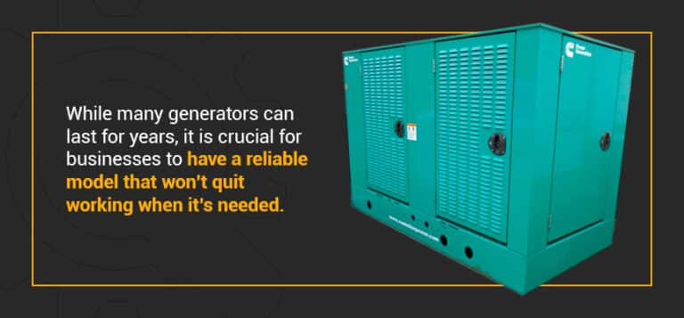 Replacing or updating your generator