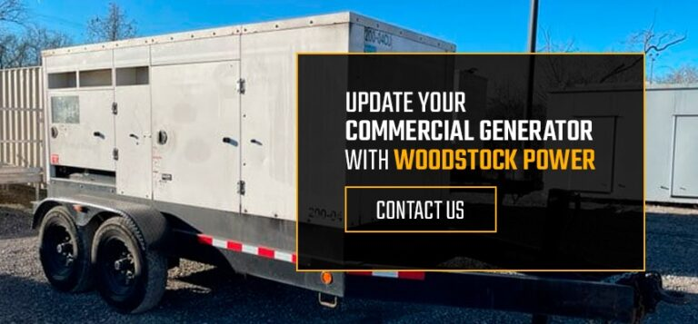 Update Your Commercial Generator With Woodstock Power
