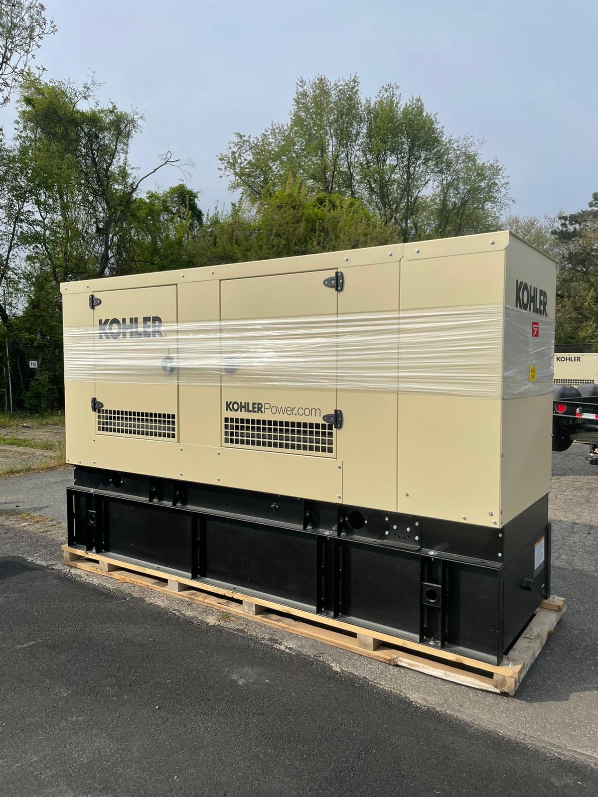 New 150 kW Kohler 150REOZJF Diesel Generator – EPA Tier 3 – COMING IN!