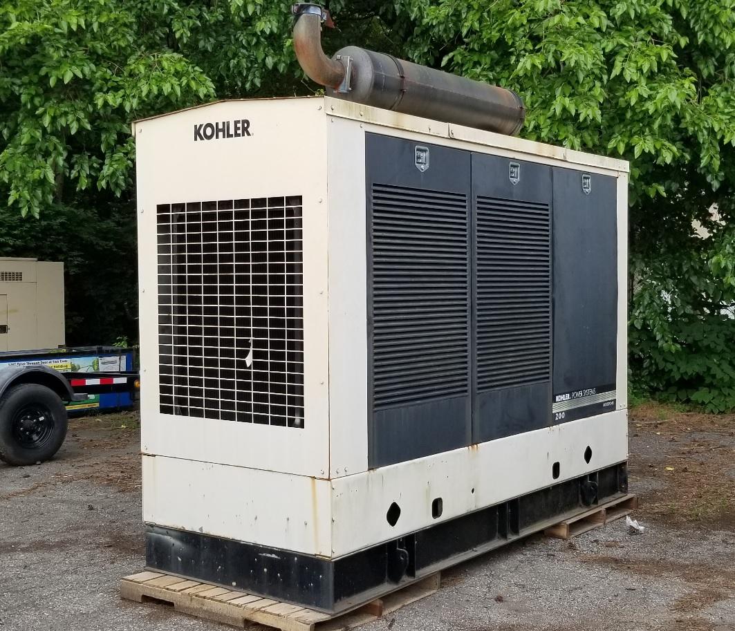 Used 205 kW Kohler 200REOZV Diesel Generator – EPA Tier 2 – SOLD!