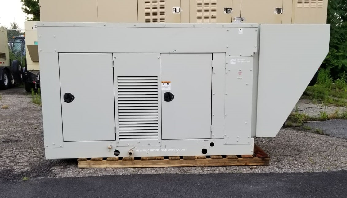 Used 100 kW Cummins GGHH Natural Gas Generator – SOLD!