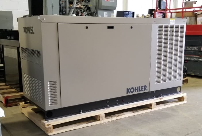 New 60 kW Kohler RCLA Natural Gas Generator – SOLD!