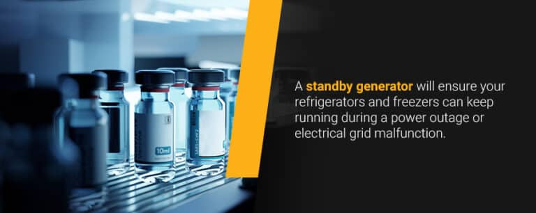 Consider Standby Generators as Part of a Vaccine Storage Contingency Plan