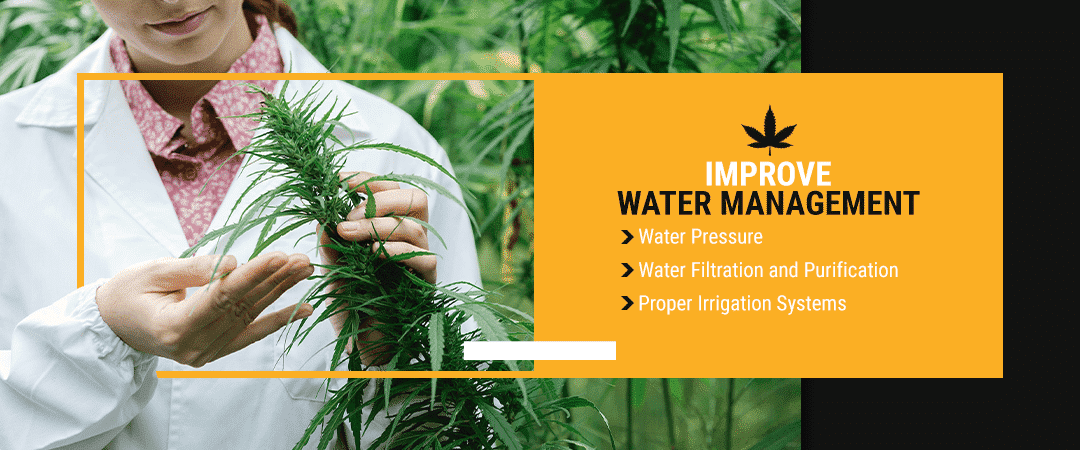 1. Improve Water Management