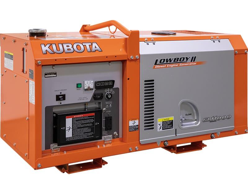 New 11 kW Kubota GL11000TM Diesel Generator (5 Available) – COMING IN!