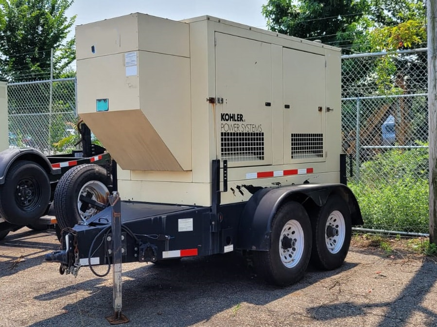 Used 55 kW Kohler 50REOZJB Portable Diesel Generator – EPA Tier 2 – SOLD!