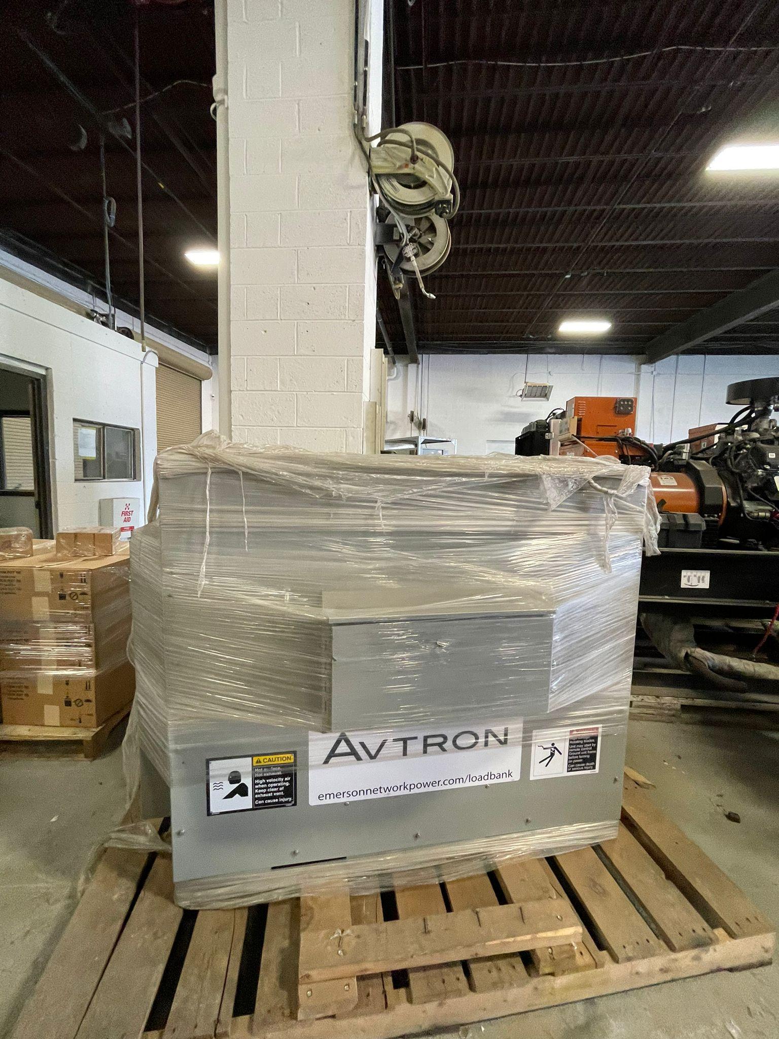 New 200 kW Avtron K675A Resistive Load Bank