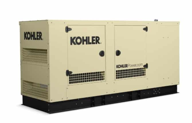 New 125 Kohler KG125 Natural Gas Generator – 4 AVAILABLE – COMING IN!