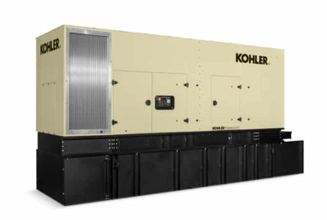 New 500 kW Kohler 550REOZVB Diesel Generator – COMING IN!