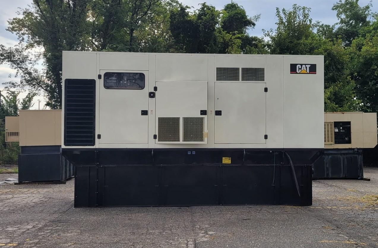 Used 650 kW CAT 3412 Diesel Generator – SOLD!