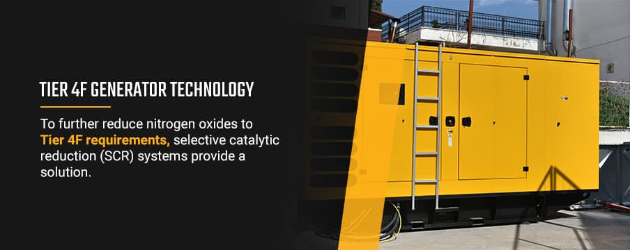 Tier 4F Generator Technology